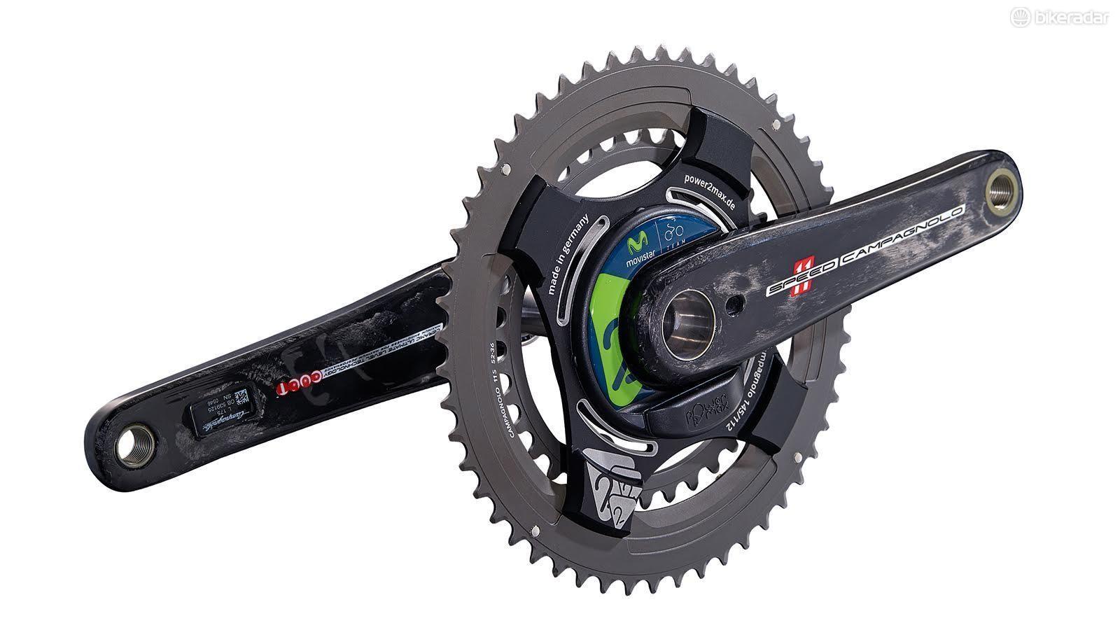 power2max's Type-S includes Campagnolo options