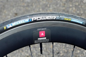 The Michelin Power Competition is an outstanding performance tyre