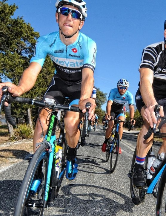 Team Elevate is a UCI Continental pro team that has ridden and raced exclusively on Michelin clinchers for three seasons