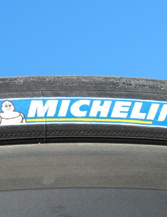 A minor step, perhaps, but Michelin is excited about its first use of color on the new tyres