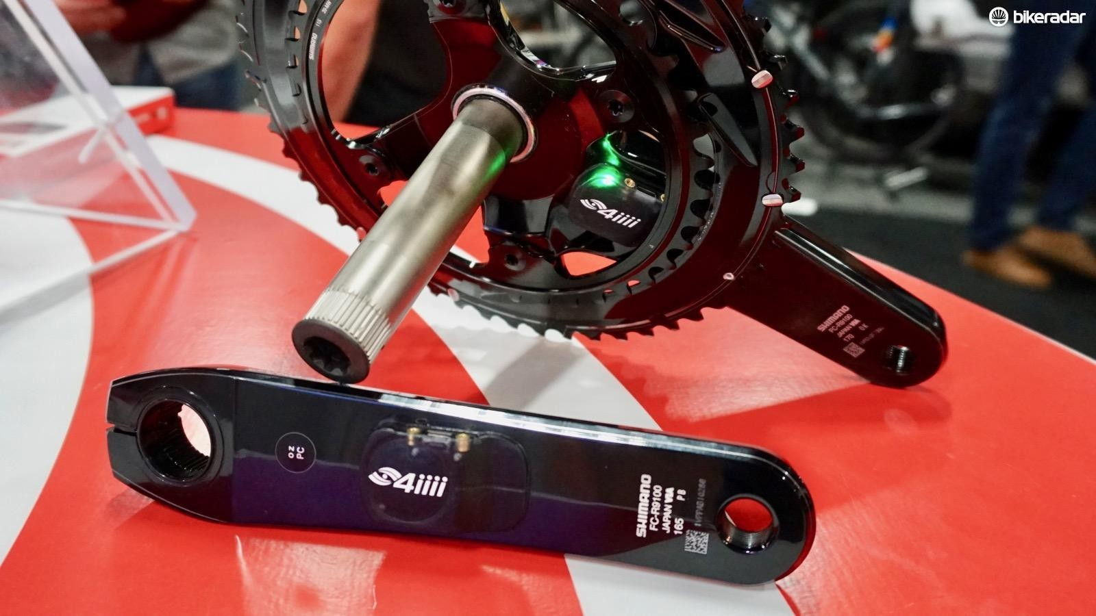 The new Precision Podiiiium features both a slimmer pod on the left crank (down to a claimed 7.5mm from 8.2mm) and a hidden pod on the drivetrain arm