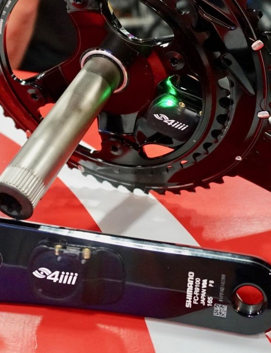 The new dual-sided 4iiii Precision Podiiiium features a rechargeable battery on each crank