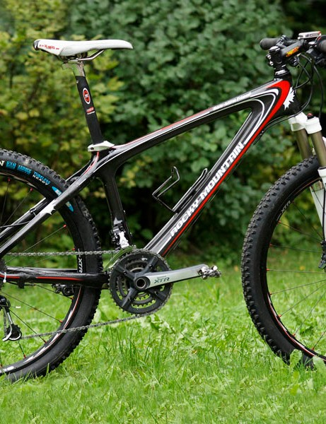 Canadian cross-country star Marie-Hélène Prémont will compete for one more year aboard Rocky Mountain's newest Vertex RSL Team carbon hardtail.
