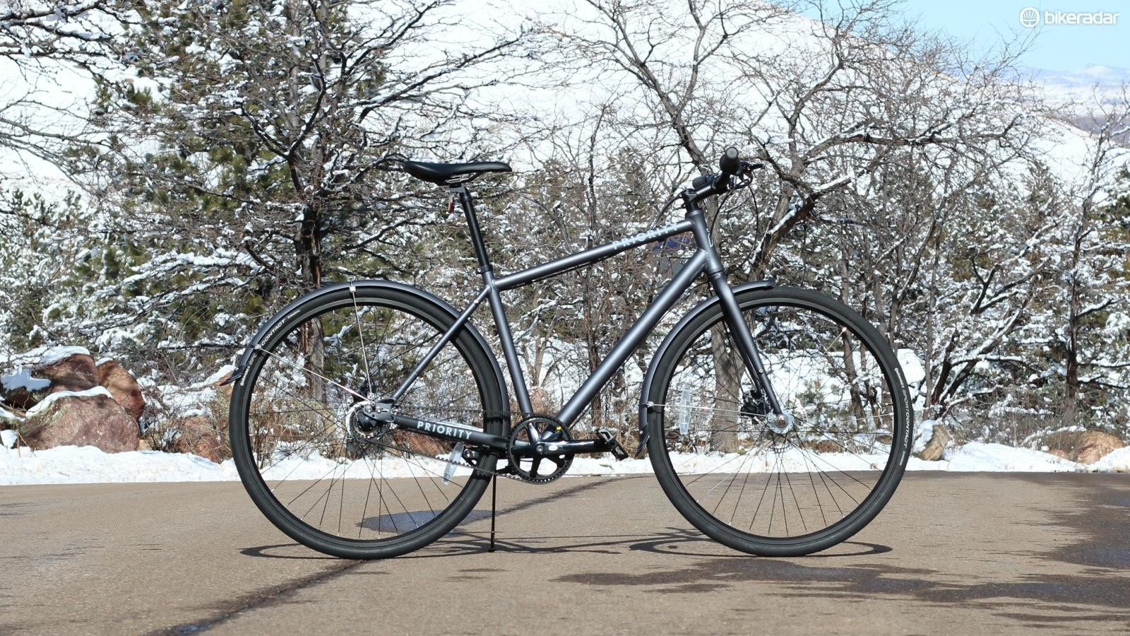 I tested the bike through all types of weather, both for riding and just outdoor storage