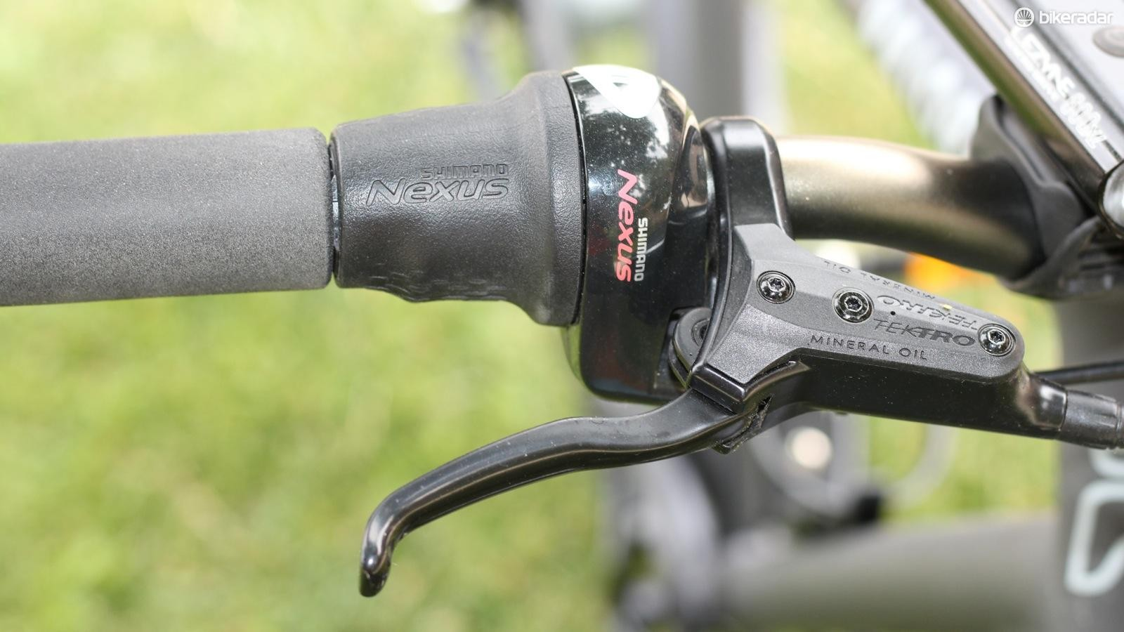Shimano's Nexus drivetrain is simple and reliable