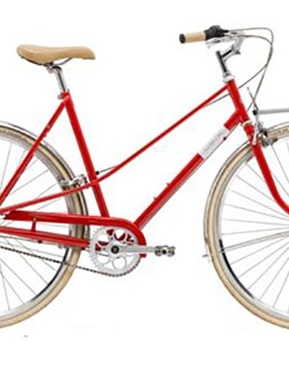 Cruise in style with this porteur rack equipped bike from Creme