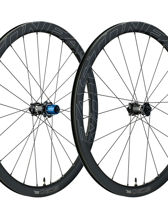 Easton EC90 SL wheels are carbon, aero and fast