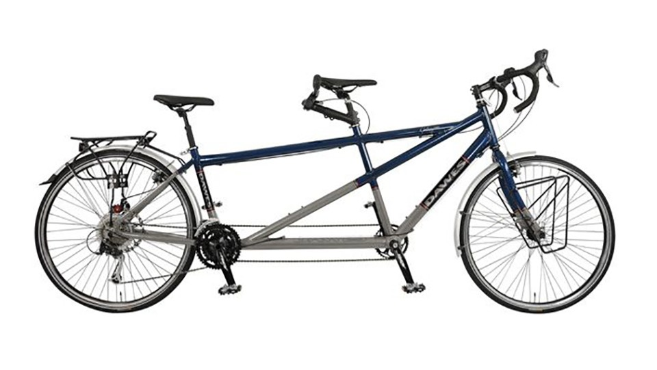 This bike will take your relationship in... new directions