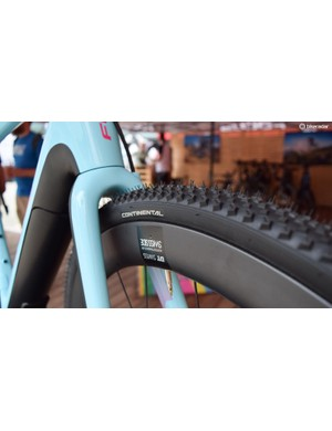 The Project Y will take 35mm tyres, or 32s with mudguards