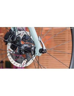 The Project Y has mounts for full mudguards. It uses Focus' own RAT thru-axle system