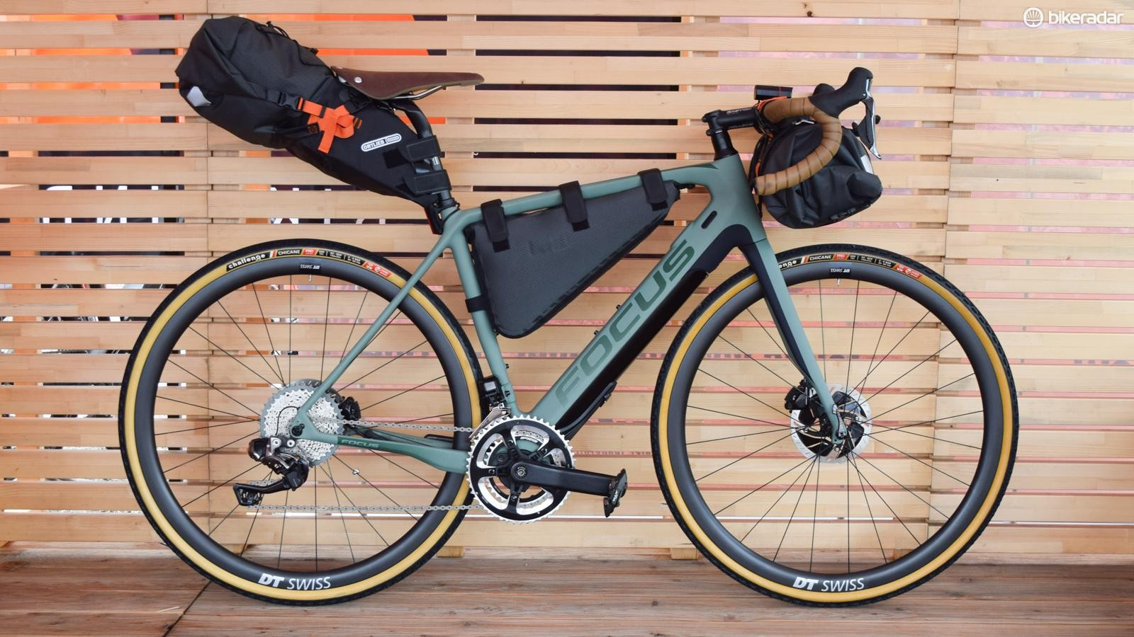 The Project Y in bikepacking guise