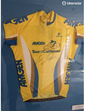 Here's Levi Leipheimer's Tour of California leader's jersey