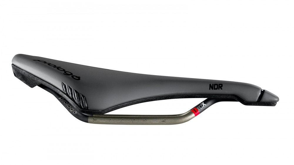 The NDR has deeper padding than the standard Dimension and a more curved profile