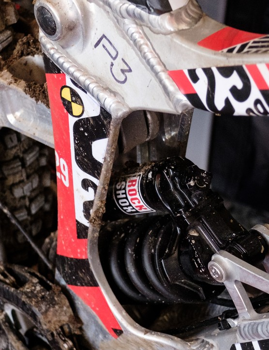 Rockshox supplied both the 29er specific fork and one of its new coil shocks