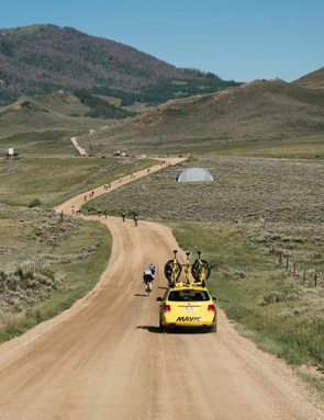 The Mavic Haute Route Rockies tackles hundreds of miles of beautiful roads, paved and otherwise