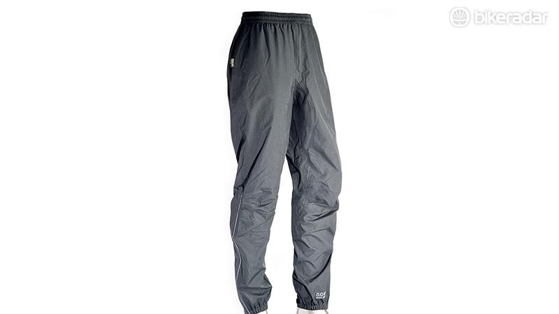 Waterproof trousers can funnel rain straight into your shoes, flooding them — waterproof shorts avoid the issue