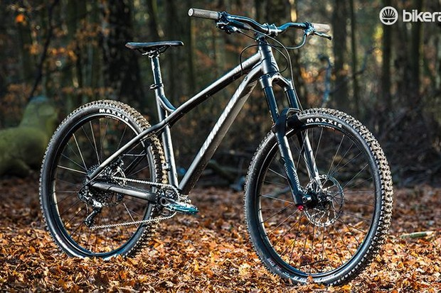 An all-mountain bike. It's also a hardtail, which these days is a niche, and 650b, which sadly succeeded so rapidly it was never a niche at all