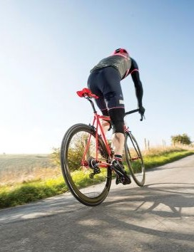 Heavier but quicker uphill?