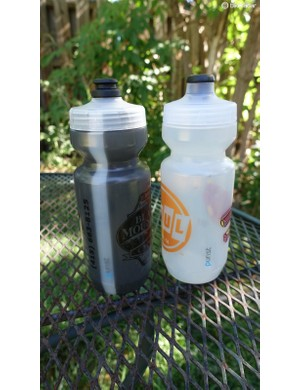 Upgrade your bottles with Specialized Purist models. They feature a lining that resists staining and odors