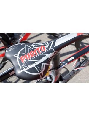 Purito's custom saddle