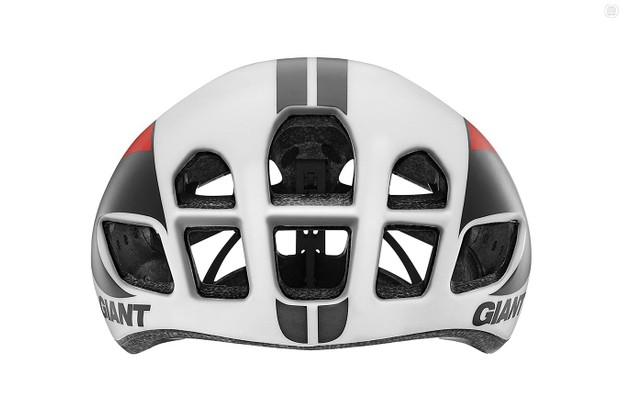 Giant's new Pursuit road helmet has huge intake vents up front