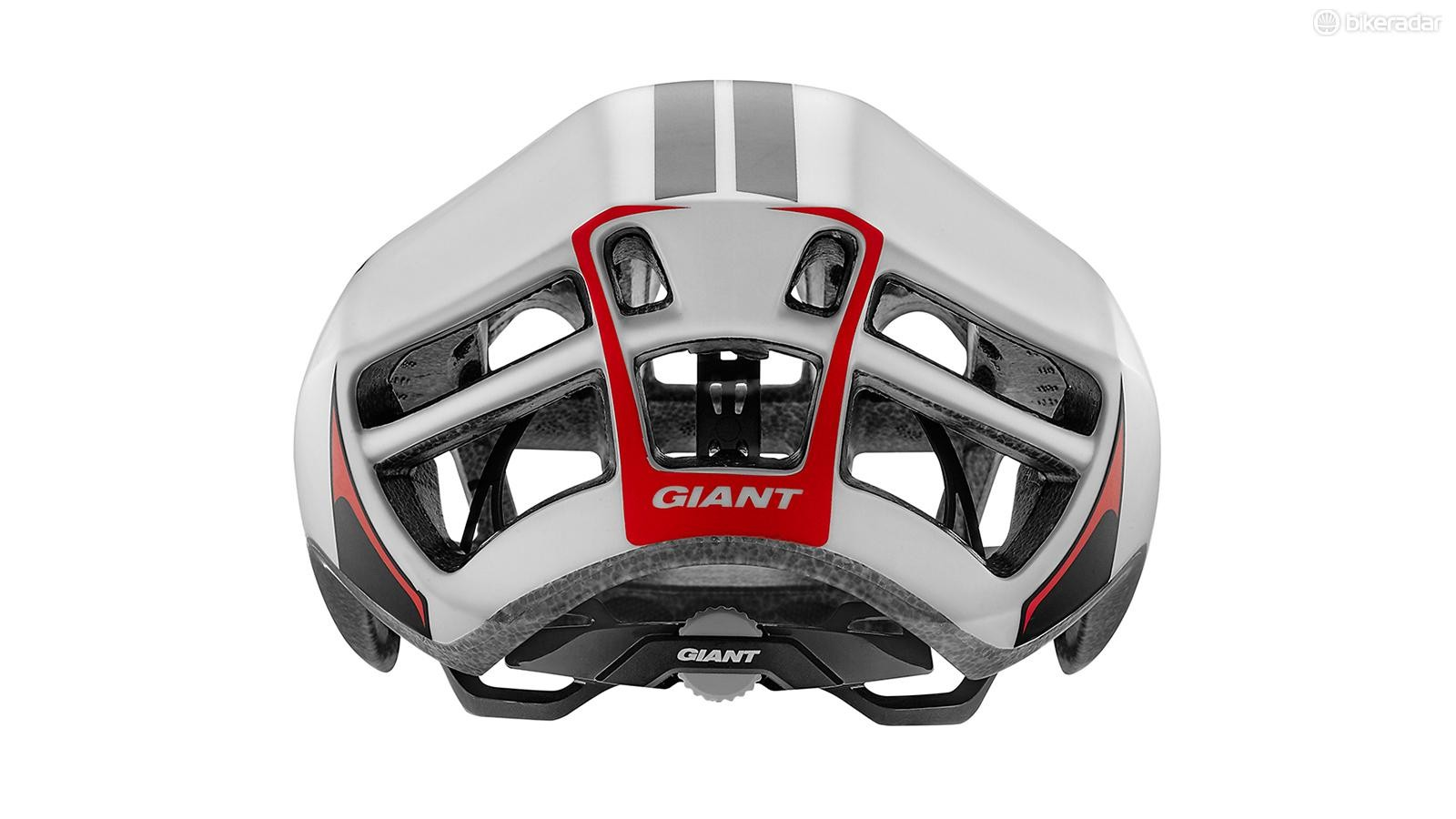 Combined with deep internal channels, the large rear ports help move air across the head