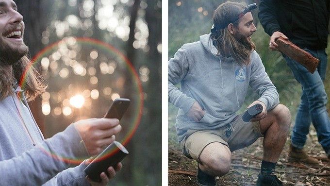 Do you camp? You might like the wireless speaker and head torch
