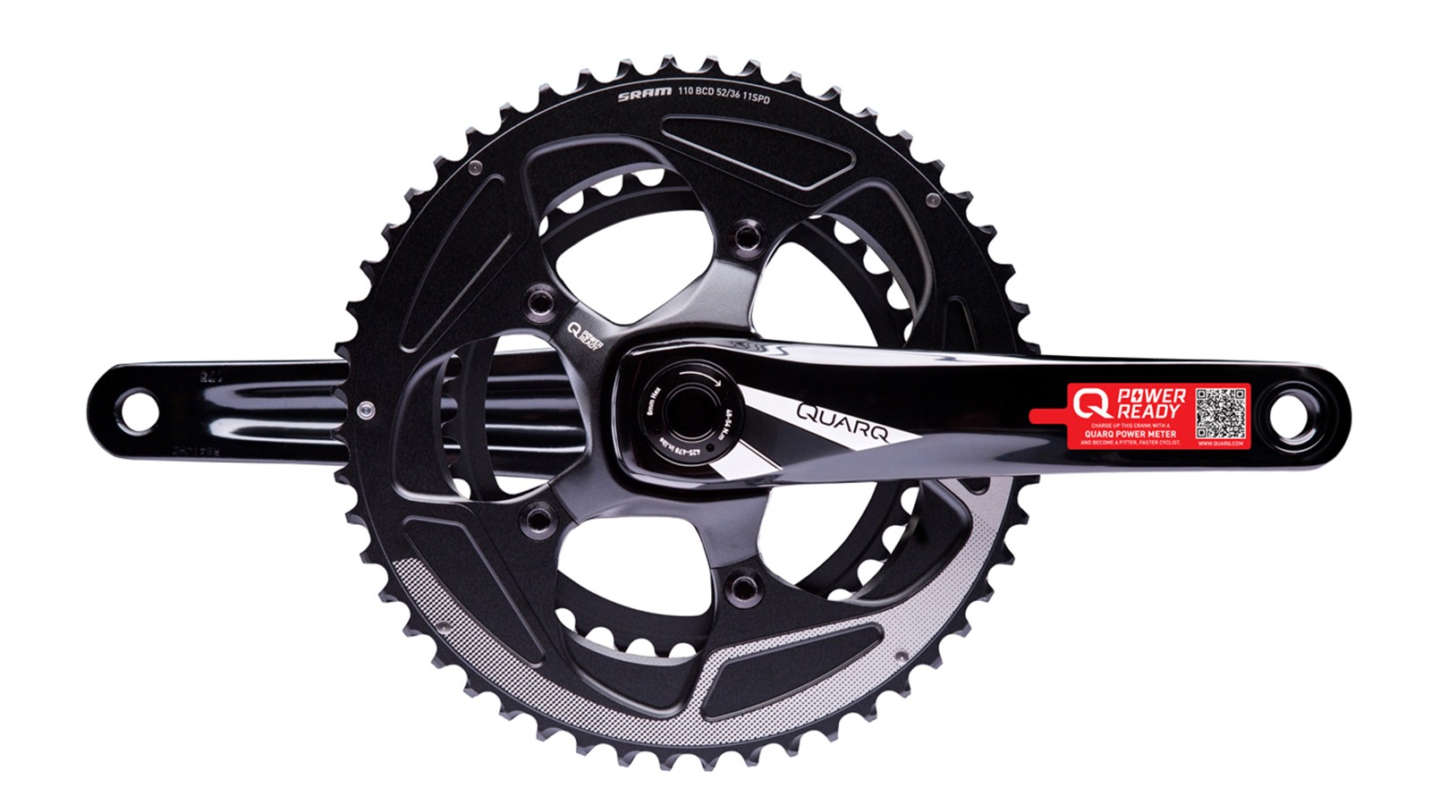 The new Quarq Prime 'power-ready' crankset