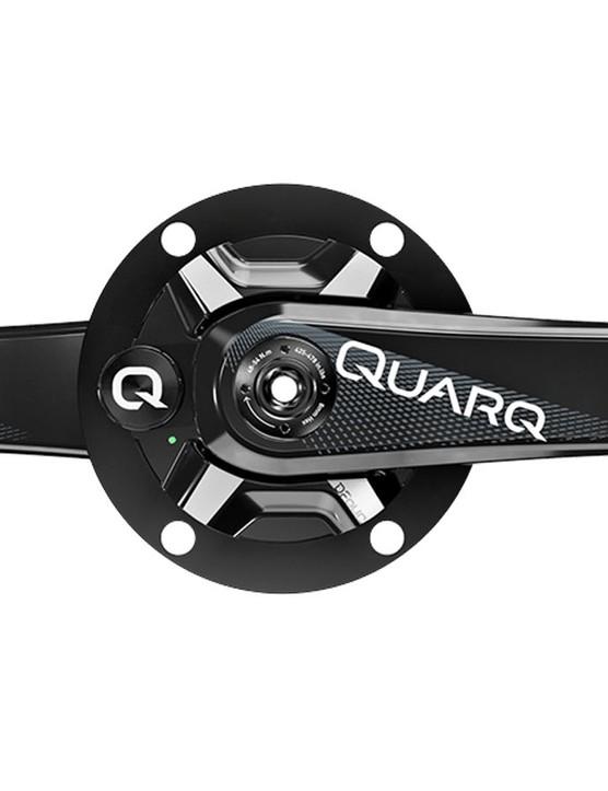 Quarq's DFour power meter is designed around Shimano 11spd drivetrains