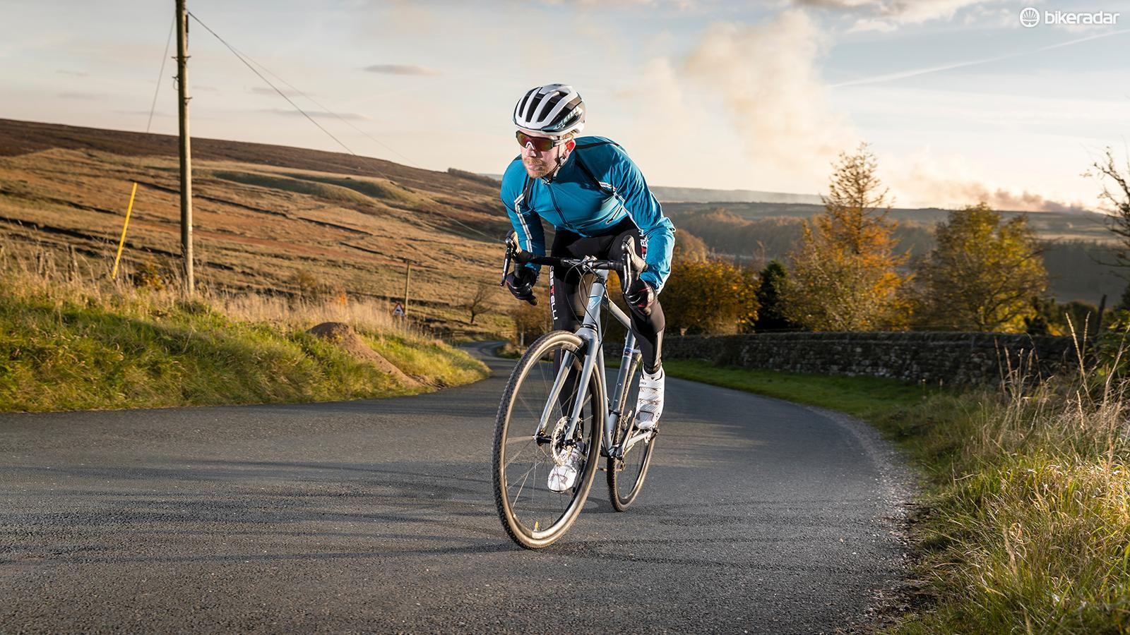 Pick an easier gear as the gradients rise