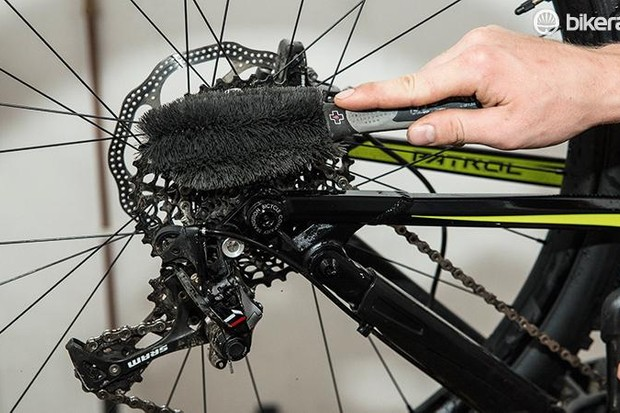 1. Clean your bike