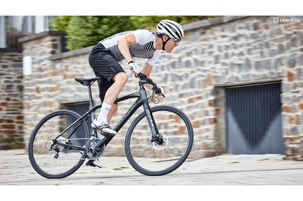 The Cannondale Quick Carbon wants to get you where you're going quickly