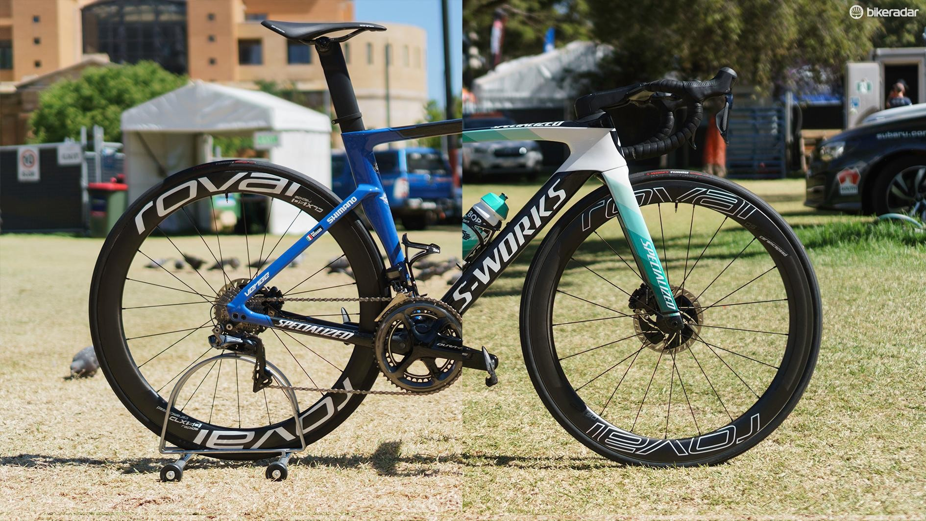 Through the magic of Photoshop, BikeRadar introduces the S-Works Venge WorldTour Team Hybrid
