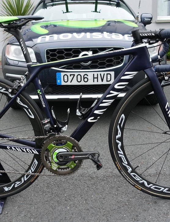 Movistar's Nairo Quintana is eager to add a Tour de France title to his resume. This is the machine upon which he hopes to climb to victory in the mountains of this year's Grand Boucle