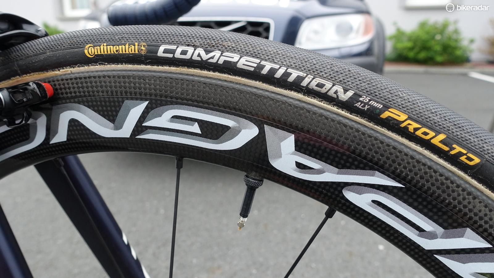 Quintana and Valverde will have access to the only five pairs of Boras in the world with a prototype brake track treatment meant to improve wet weather braking