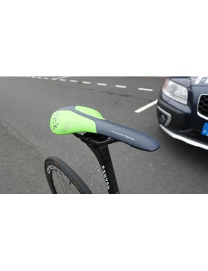 Quintana prefers a used saddle for the start of important races. His seat height is 69cm