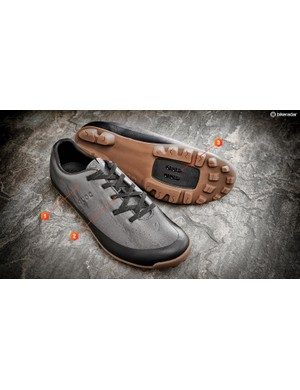 The upper is constructed without using stitching making it superbly comfortable and highly water-resistant