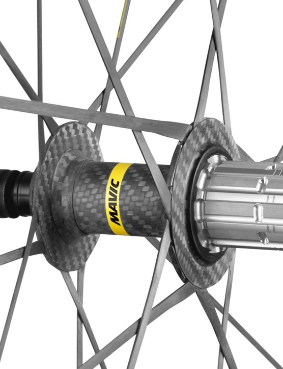 The Cosmic Ultimate UST hub comes ready for Shimano and SRAM, and can be converted for use with Campagnolo and SRAM's XR-D
