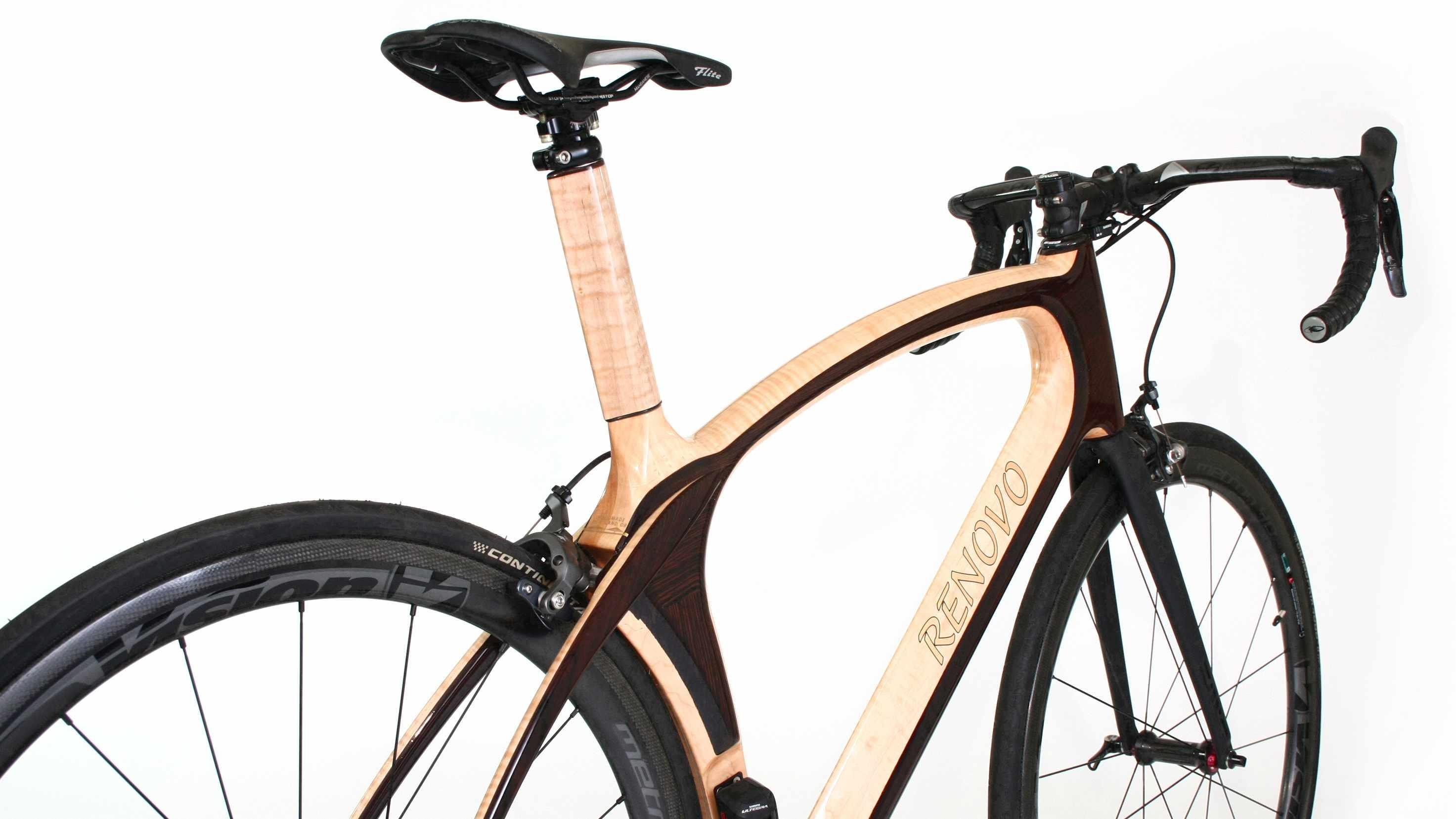 Wood frame bicycle builder Renovo has released its Aerowood