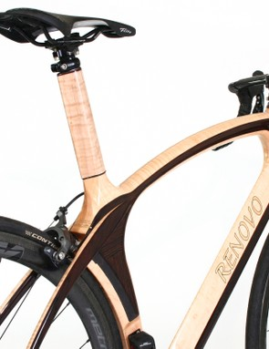 Wood frame bicycle builder Renovo has released its Aerowood
