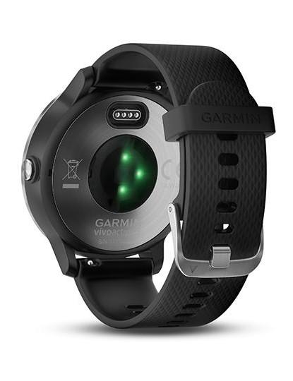 The Vivosmart 3 includes Garmin's new optical HR sensor