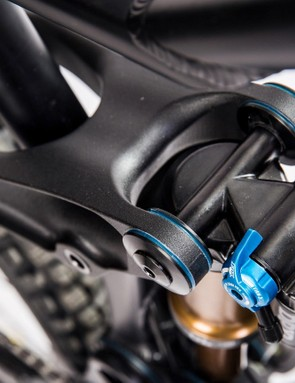 Ten sets of bearings keep the bike running smoothly