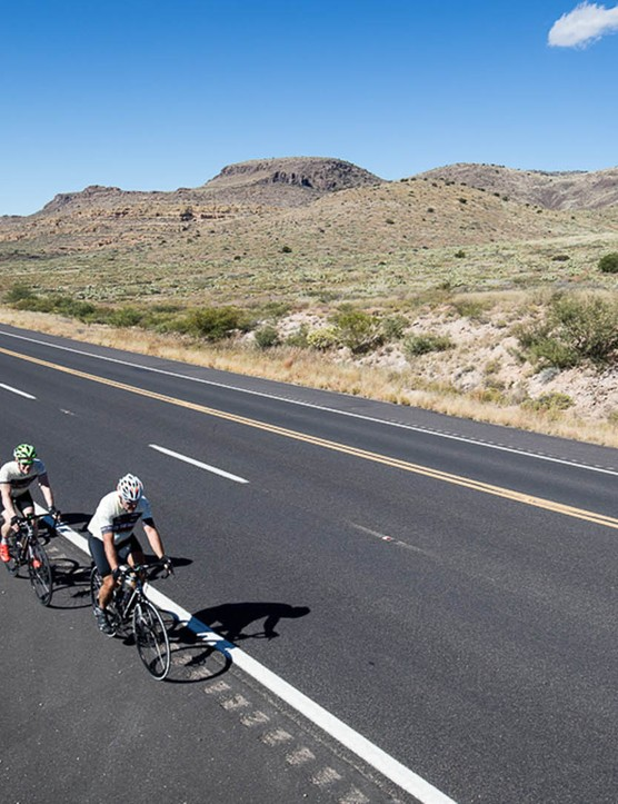 Many racers joined Race The World as they were keen to have the chance to ride coast-to-coast across the USA