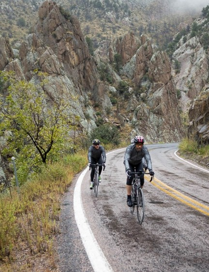 Riders faced bad weather as well as good, with a storm putting a premature end to one stage for safety reasons