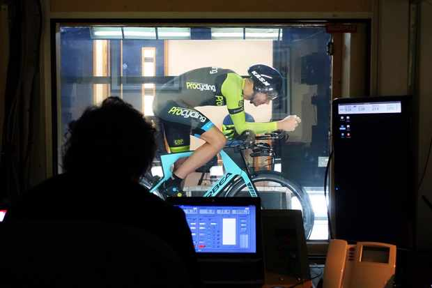We tested our wheelsets on the road and in the University of Southampton's wind tunnel