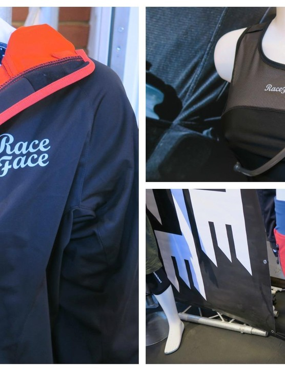 Race Face is also opting for polka dots for 2015, though look closely and you'll spot the occasional tiny skull among the patterns. The brand has also included a range of products for stashing water and food on the go, meaning you need less luggage space when you ride