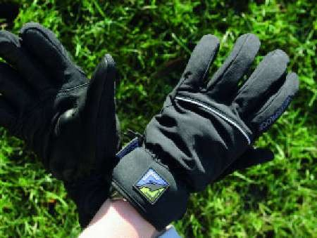 The Sealskinz gloves are perfect for winter riding.