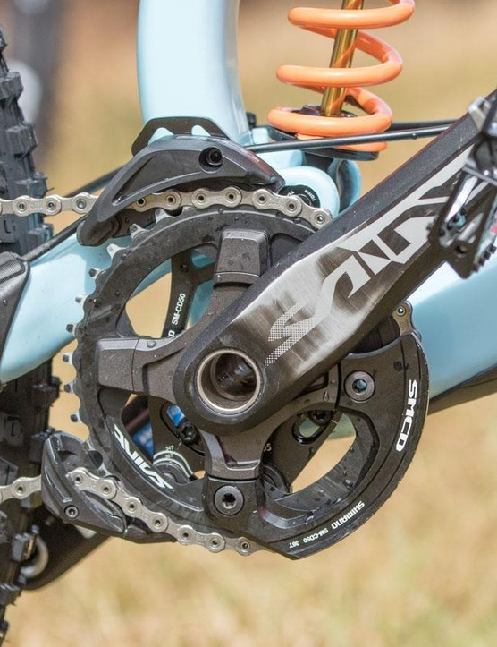Built specifically for downhill racing, Shimano's Saint grouptest has remained unchanged for many years now