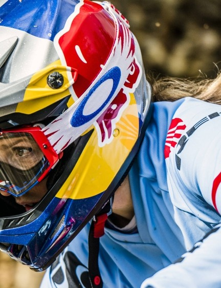 Rachel Atherton has won numerous downhill mountain biking World Cups