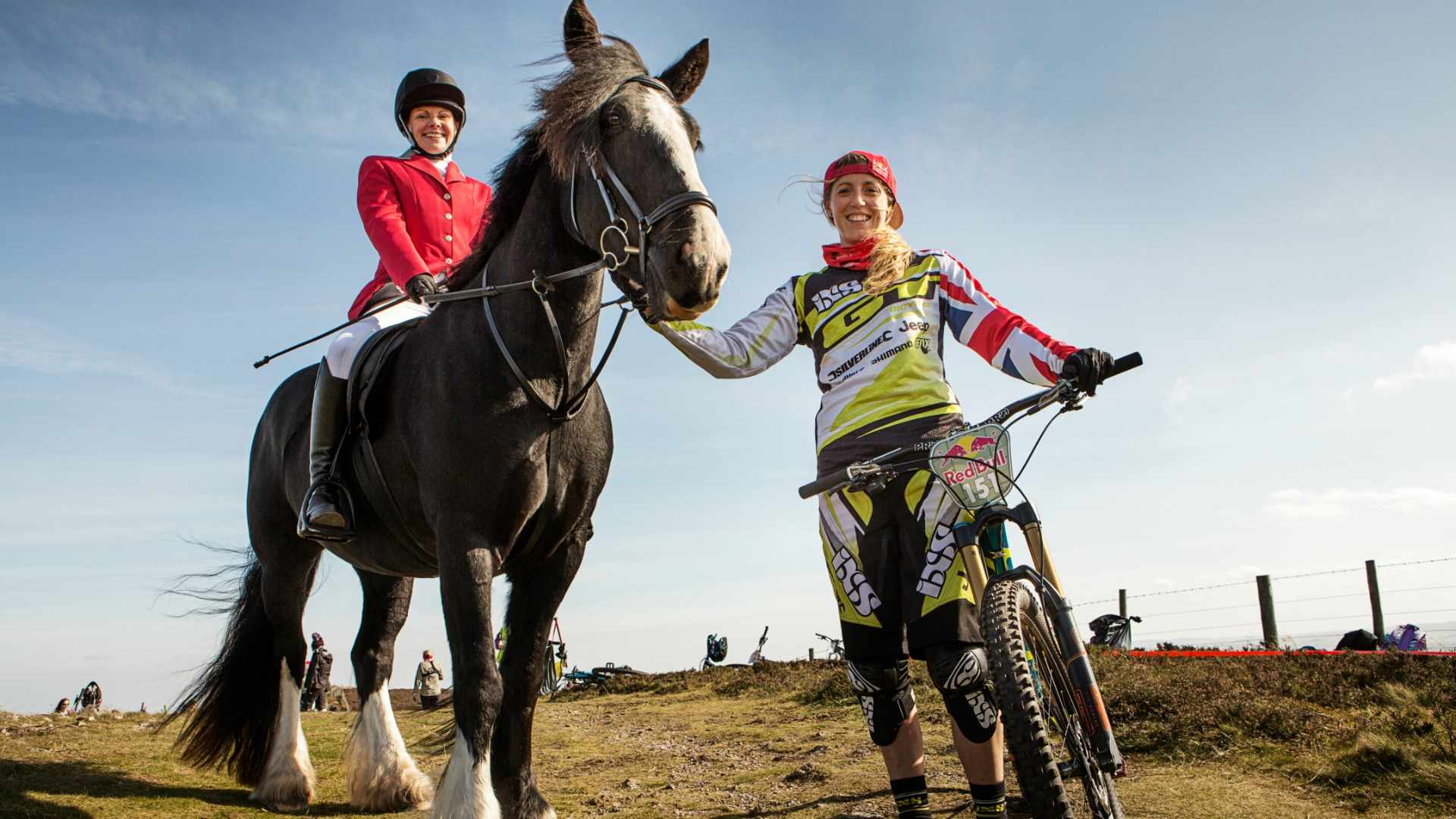 Are you ready to ride with Rachel Atherton in the 2016 Red Bull Fox Hunt?